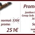 Vous pourrez trouver jusqu'au 15 mars dans la boutique en ligne de Spanishtaste.frun jambon «Pata Negra» Bellota (la plus haute des trois qualités) avec 36 mois d'affinage et un poids […]